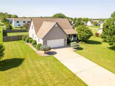 Lenawee County Single Family Home Contingent - Financing: 3577 Jade