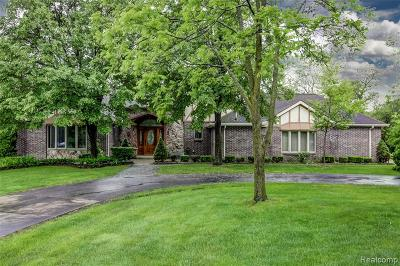 Farmington Hill Single Family Home For Sale: 25893 Springbrook Dr