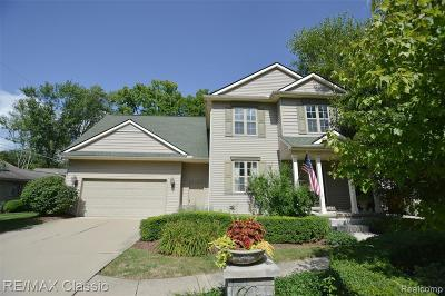 Northville Single Family Home For Sale: 621 Orchard Dr
