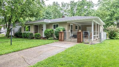 Ann Arbor Single Family Home Contingent - Financing: 2115 N Circle Dr