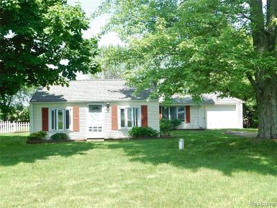 Williamston Single Family Home For Sale: 2605 E Haslett Rd