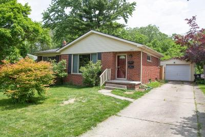 Ann Arbor Single Family Home Contingent - Financing: 2407 Medford Rd