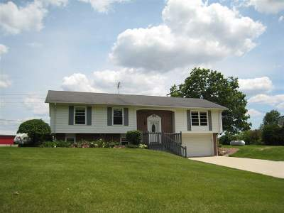 Tecumseh MI Single Family Home For Sale: $349,900