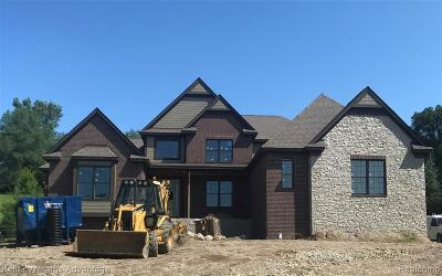 Northville Single Family Home For Sale: 18693 Clover Hill Crt