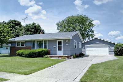 Lenawee County Single Family Home Contingent - Financing: 721 Seneca