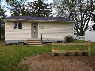 Branch County Single Family Home For Sale: 212 Dolphin Ln