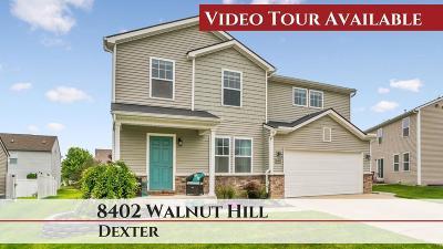 Dexter Single Family Home For Sale: 8402 Walnut Hl