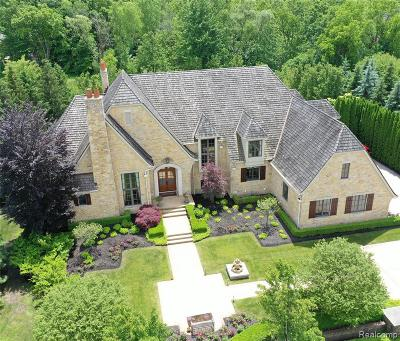 Northville Single Family Home For Sale: 47765 Bellagio Dr