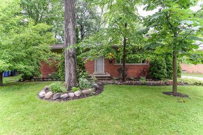 Ann Arbor Single Family Home For Sale: 623 Duane Ct