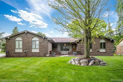 Farmington Hill Single Family Home For Sale: 22320 Parklane St