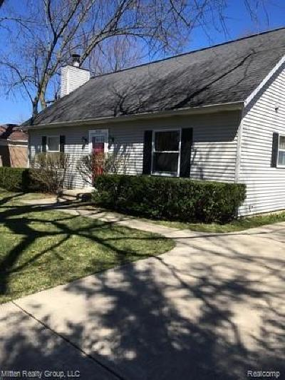 Ann Arbor Single Family Home For Sale: 3253 Nordman Rd