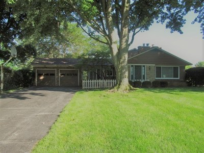 Lenawee County Single Family Home For Sale: 1380 Trenton Rd