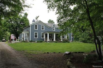 Milford Single Family Home For Sale: 3630 Lone Tree Rd