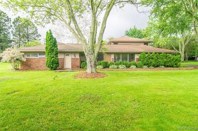 West Bloomfield Single Family Home Contingent - Financing: 6312 Nicholas Dr