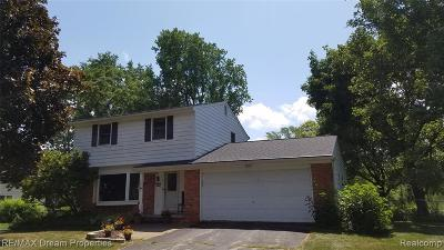 Wixom Single Family Home For Sale: 1868 Hopkins Dr