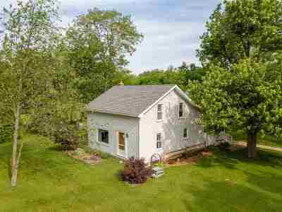 Lenawee County Single Family Home Contingent - Financing: 6600 Pocklington Rd