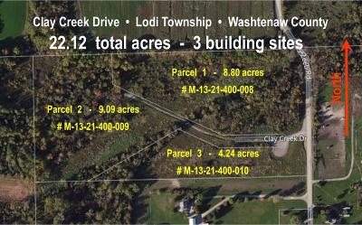 Ann Arbor Residential Lots & Land For Sale: 4 Clay Creek Dr
