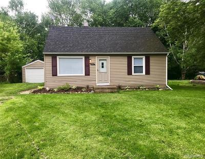 Lansing Single Family Home For Sale: 6021 Hughes Rd