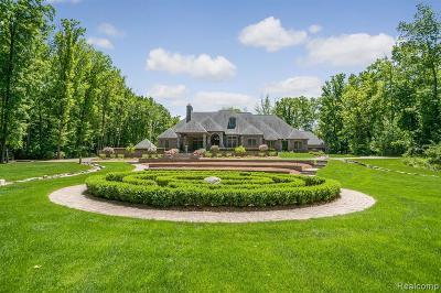 Northville Single Family Home For Sale: 21951 Kettle Lake Rd