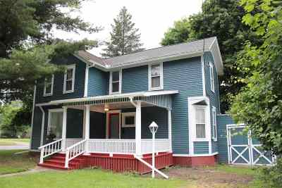 Lenawee County Single Family Home Contingent - Financing: 803 N Broad