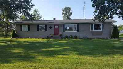 Lenawee County Single Family Home For Sale: 7190 Dudley Rd