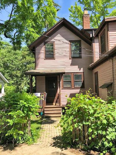 Ann Arbor Single Family Home For Sale: 929 W Liberty St