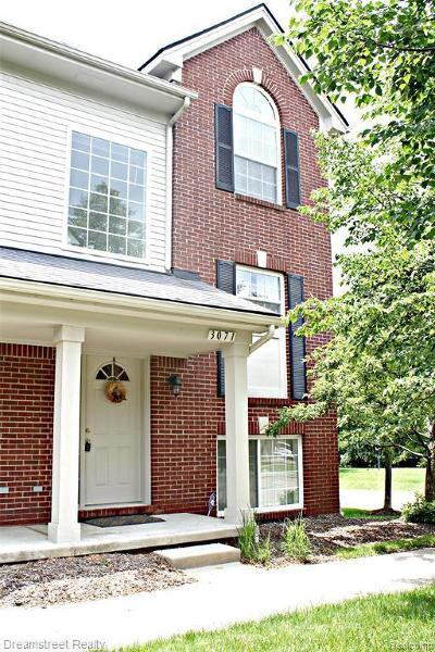 Ann Arbor Condo/Townhouse For Sale: 3071 Promenade Cir