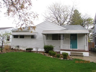 Single Family Home For Sale: 612 N Vermont