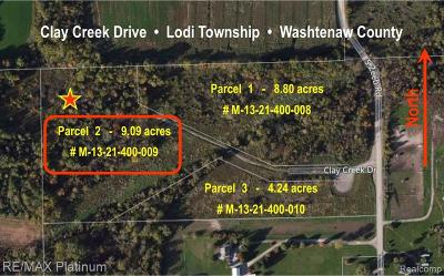 Residential Lots & Land For Sale: 2 Clay Creek Dr