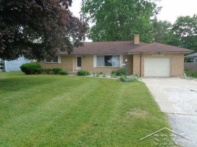 Single Family Home For Sale: 4685 Wall