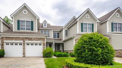 Novi Condo/Townhouse For Sale: 26364 Fieldstone Dr