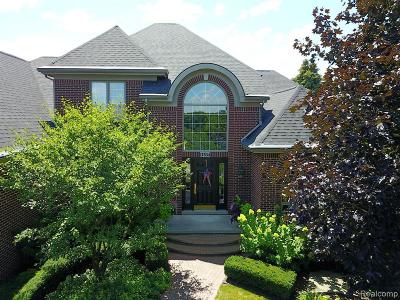 Northville Single Family Home For Sale: 17834 Stonebrook Dr