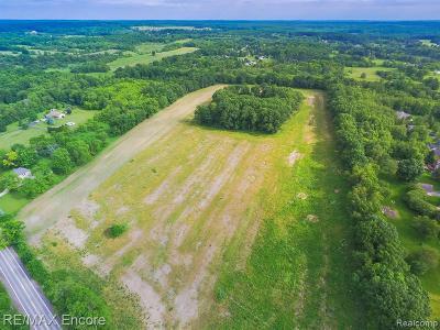 Residential Lots & Land For Sale: 3300 Davisburg Rd