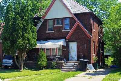 Single Family Home For Sale: 4400 Nottingham Rd