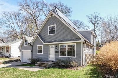 Washtenaw County Single Family Home For Sale: 915 S 7th St