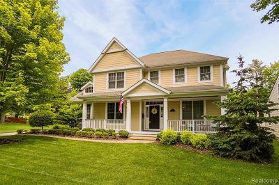 Northville Single Family Home For Sale: 728 Horton St