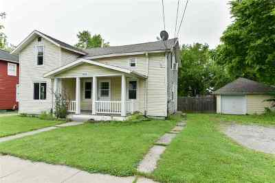 Lenawee County Single Family Home For Sale: 648 S Winter St