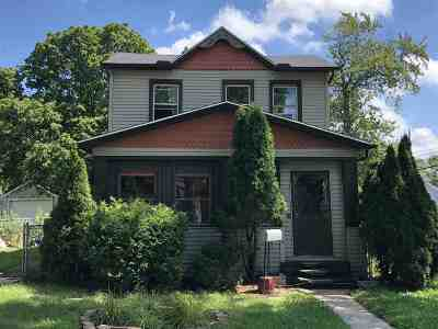 Lenawee County Single Family Home For Sale: 665 Dennis Street