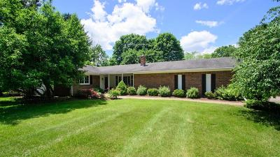 Dexter Single Family Home Contingent - Financing: 9245 Huron River Dr