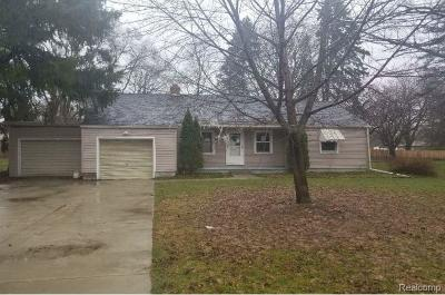 Single Family Home For Sale: 15791 Brook Rd