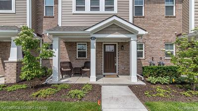 Wixom Condo/Townhouse For Sale: 431 Wright St