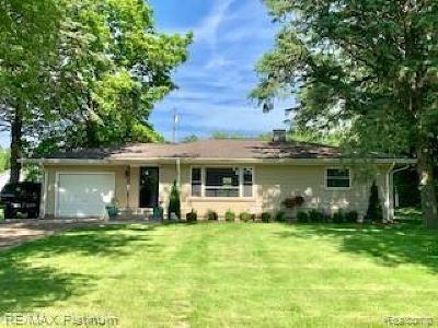 Dexter Single Family Home For Sale: 2336 Baker Rd