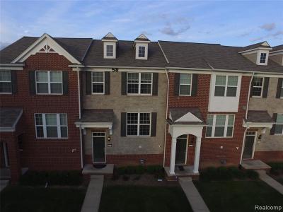 Novi Condo/Townhouse For Sale: 44523 Gwinnett Loop