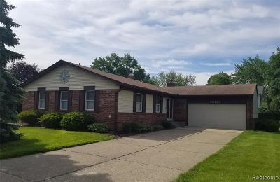 Livonia Single Family Home For Sale: 36133 6 Mile Rd