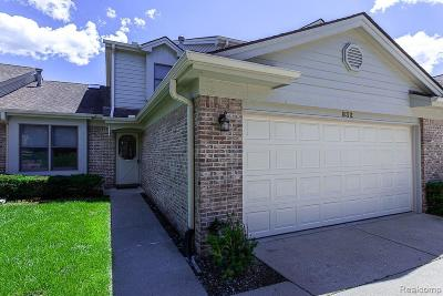 Milford Condo/Townhouse For Sale: 832 Ridgeside Dr