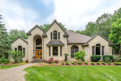 Dexter Single Family Home For Sale: 8510 Oak Ridge Trail