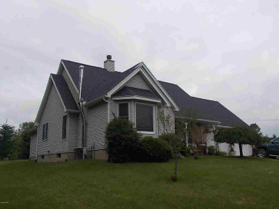 Hillsdale Single Family Home For Sale: 2394 N Bird Lake Rd