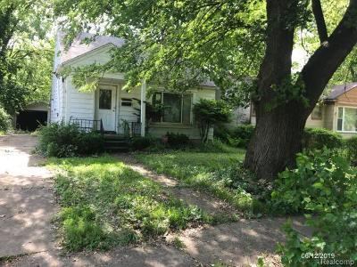 Single Family Home For Sale: 17624 Westbrook St