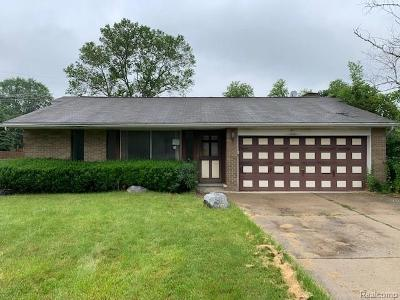Single Family Home For Sale: 29379 McDonnell Crt
