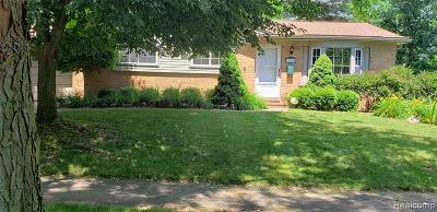 Plymouth Single Family Home For Sale: 42724 Judson